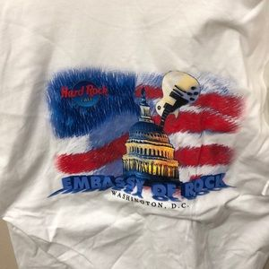 Vintage Hard Rock Cafe tee Washington DC